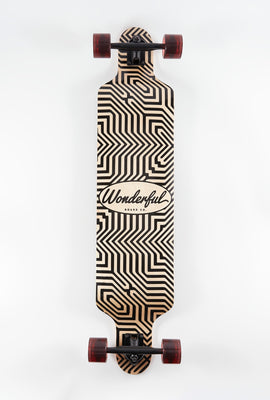 Wonderful Etched Pattern Longboard 42