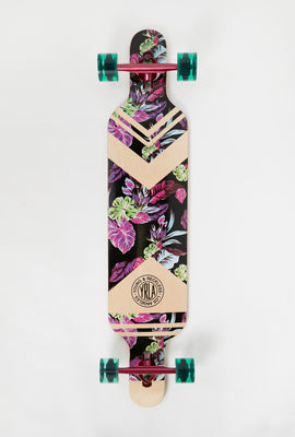 Longboard Floral Young & Reckless 42