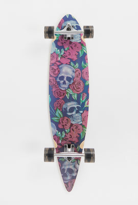 Skateboard Skull & Roses Death Valley 39