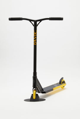 Havoc Storm Black and Yellow Scooter