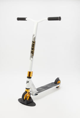 Pivot X Ride S White & Gold Scooter