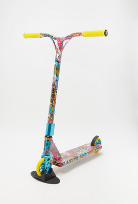 Pivot X UP S Graffiti Flower Wrap Scooter