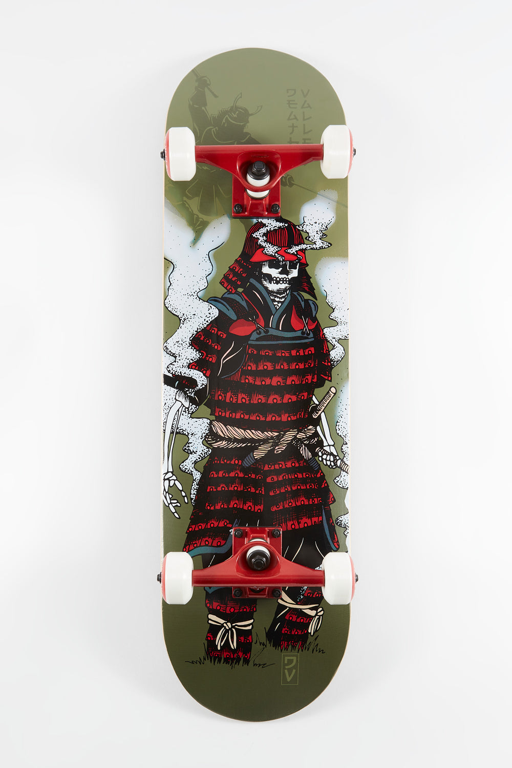 Skateboard Samurai Death Valley 8.25