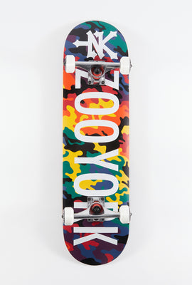 Zoo York Multi Camo Skateboard 8.25