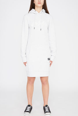 Zoo York Womens Embroidered Logo Hoodie Dress