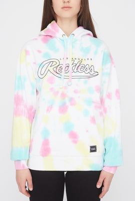 Young & Reckless Womens Tie-Dye Hoodie
