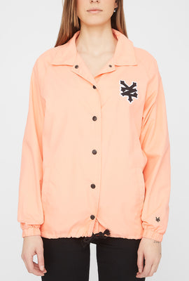 Zoo York Womens Patch Logo Coach Jacket