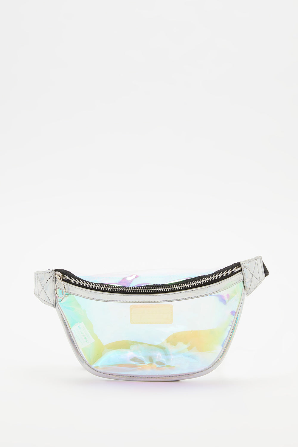Sac Banane Transparent Gris