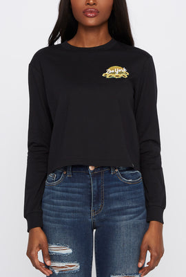 Zoo York Womens Sunflower Long Sleeve Shirt