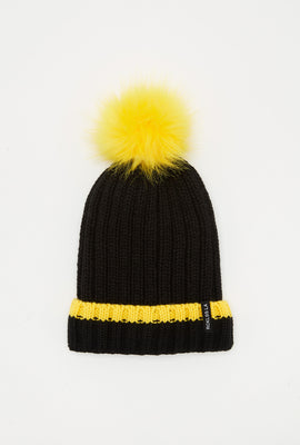 Young & Reckless Womens Pompom Knit Beanie