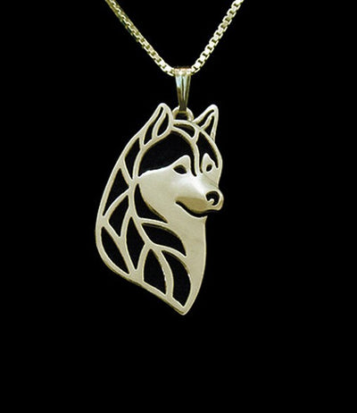 Husky Love Necklace