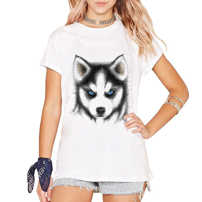 Cute Husky Puppy T-Shirt