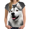 Grey Husky T-Shirt