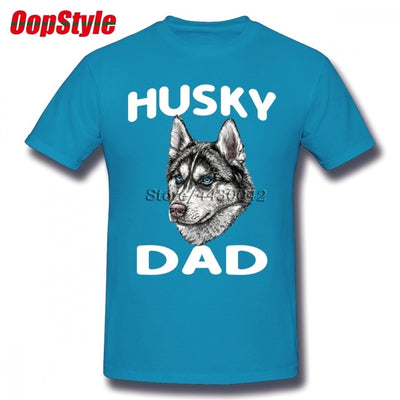 Husky Dad T-Shirt