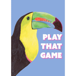Toucan Play That Game - Blue
