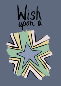 Wish Upon A Star - Blue