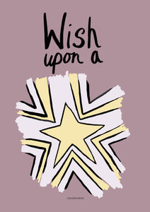 Wish Upon A Star - Pink