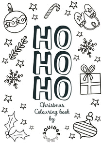 HO HO HO Colouring Book