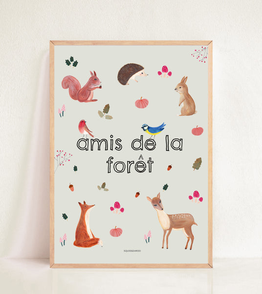 amis de la forêt - Friends Of The Forest