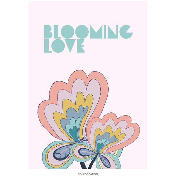 Blooming Love - Muted Colours
