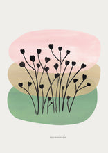 Load image into Gallery viewer, Abstract Heart Flowers - Colour Block