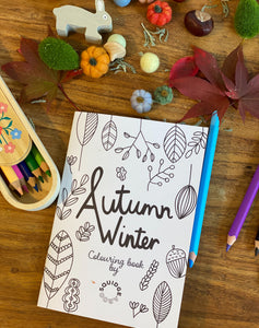 Autumn/Winter Colouring Book