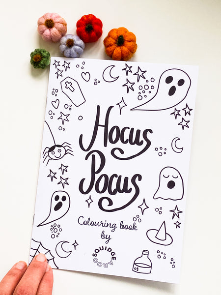 Halloween Colouring Book