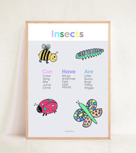 Load image into Gallery viewer, Insects - Pastel