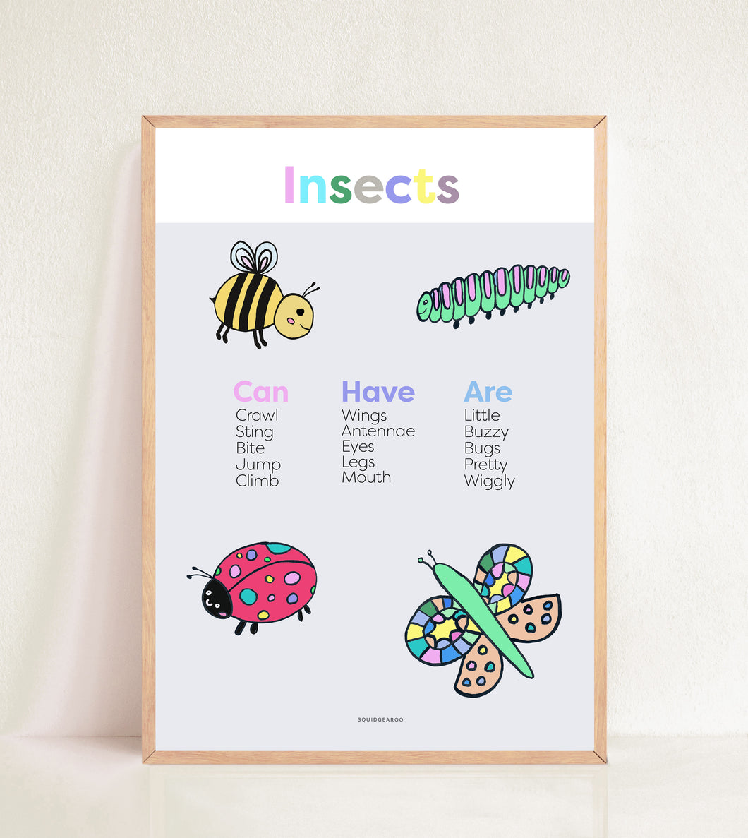 Insects - Pastel