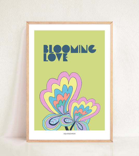 Blooming Love - Green