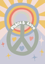 Load image into Gallery viewer, Peace & Love Print