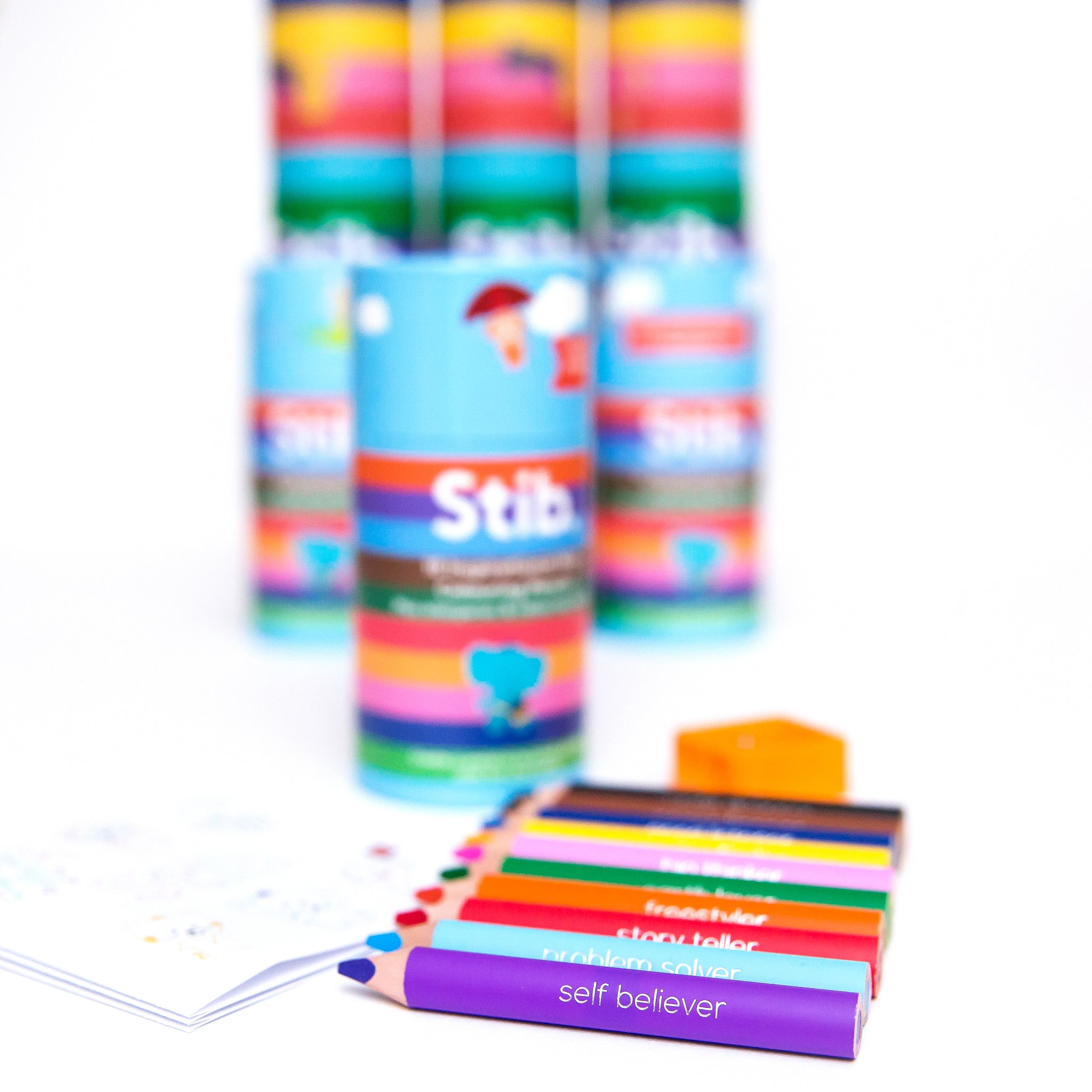 Stib Inspirations Mini Travel Pack Colouring Pencils