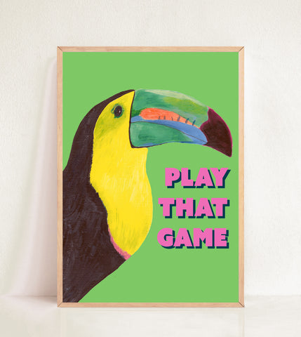 Toucan Play That Game - Green