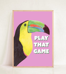 Toucan Play That Game - Pink