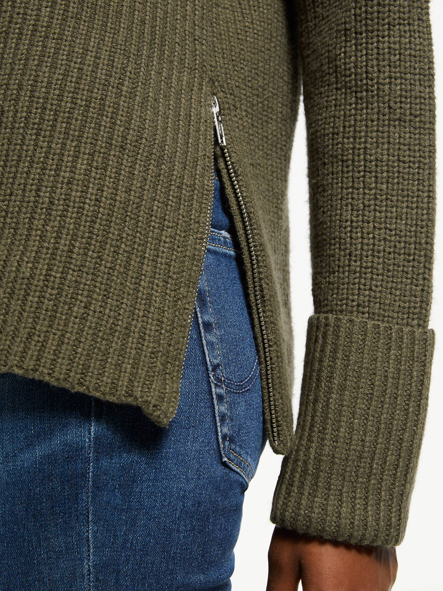 Great Plains | Fisherman Sweater Knitted Roll Collar