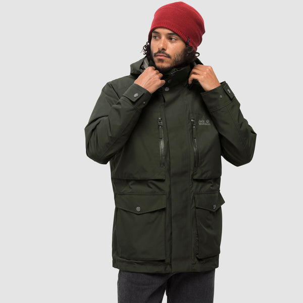 Jack Wolfskin Bridgeport Jacket Khaki