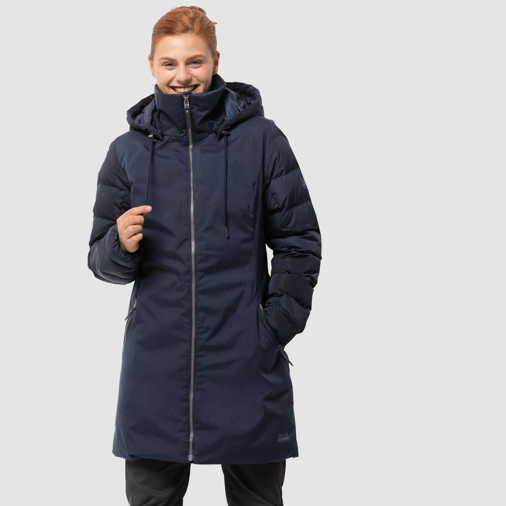 Jack Wolfskin - Temple Hill Coat | Blue