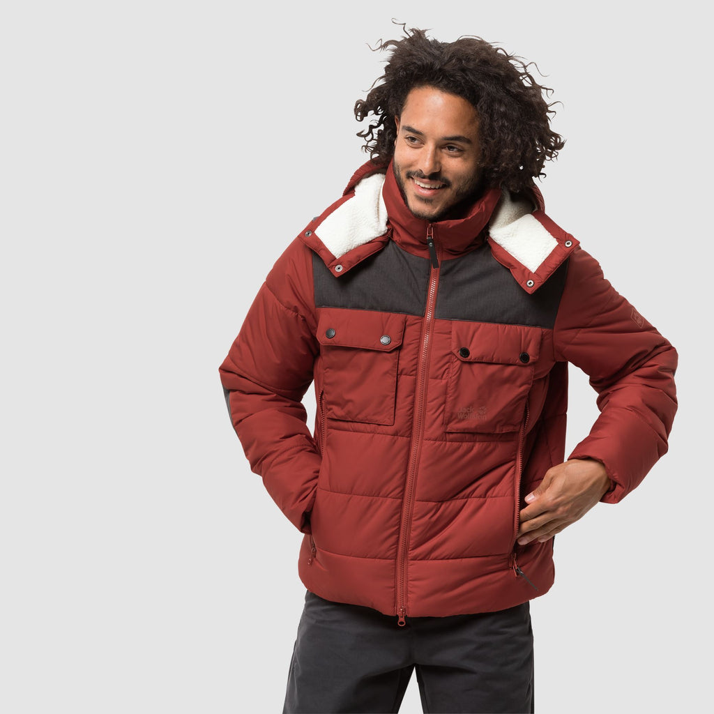 Jack Wolfskin High Range Jacket Red
