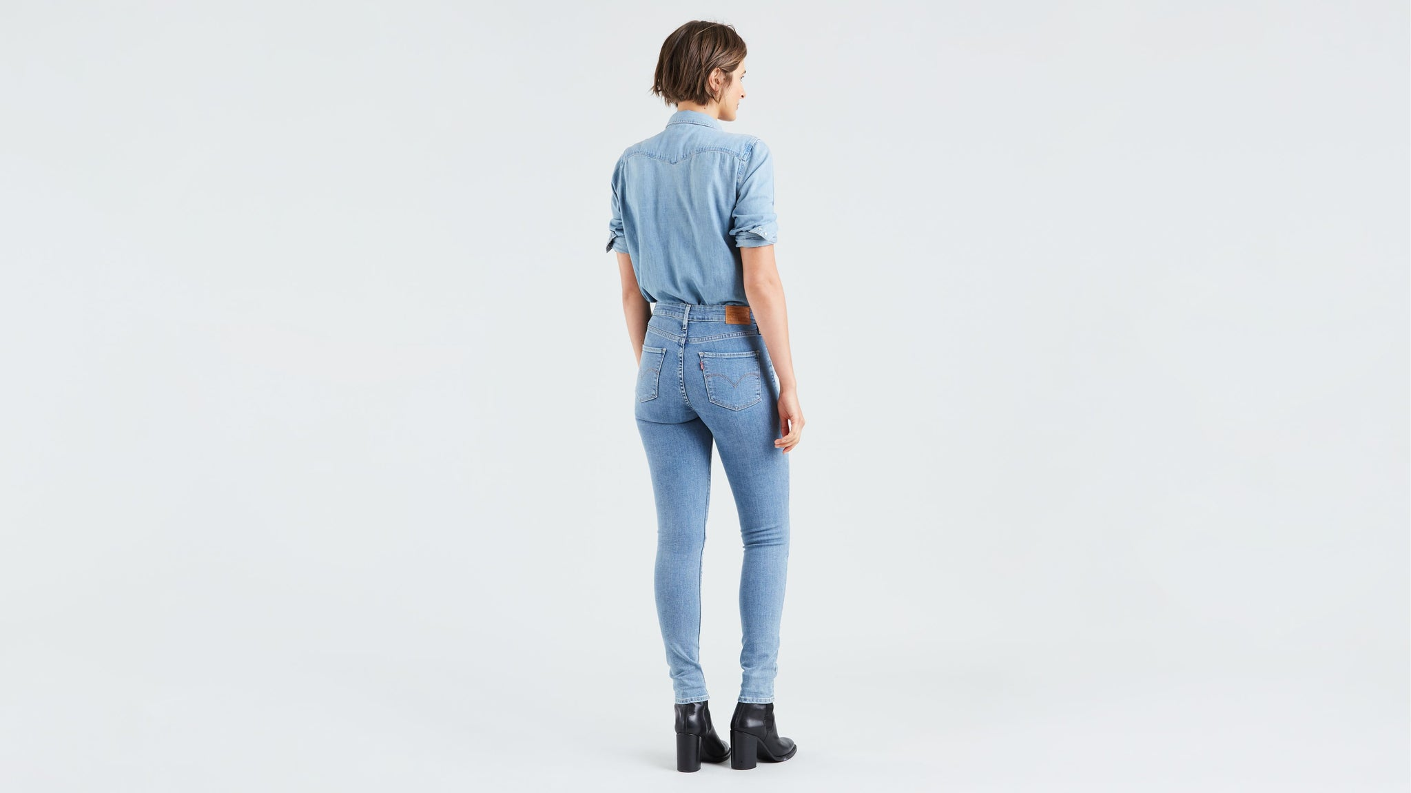 LEVIS W 18882 721 HIGH RISE SKINNY OUT