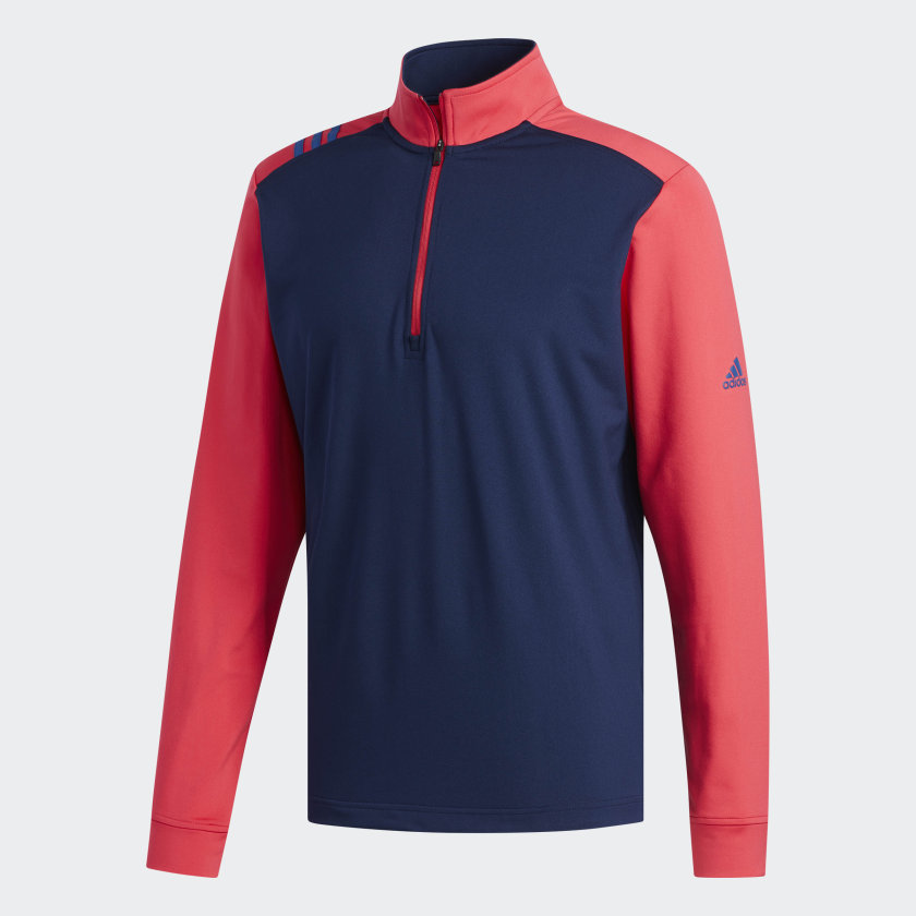 Adidas - Men's 3-Stripes Core 1/4 Zip Sweatshirt
