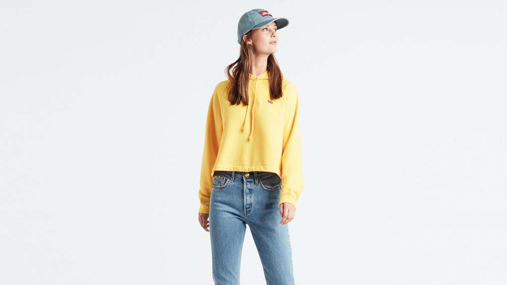 LEVIS W 74588-0000 Cinched Hoodie