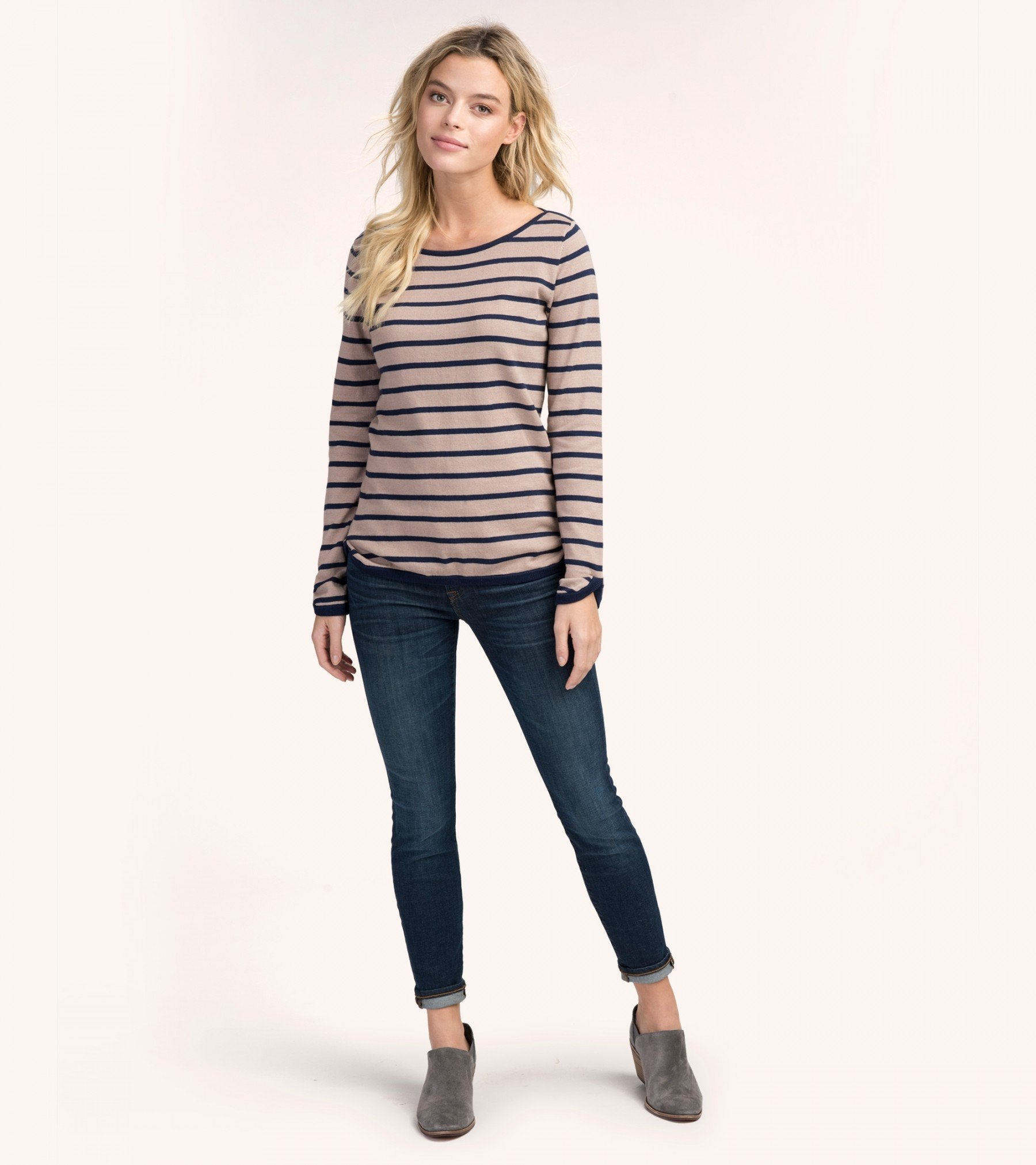 HATLEY Breton Striped Knit Shirt