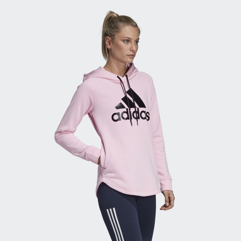 Adidas - Sport Over-Head Hoodie | true pink