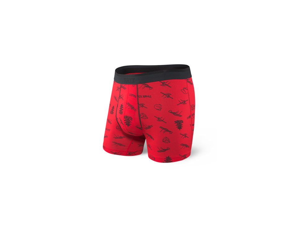 Saxx - Men's Classic Underwear Red
