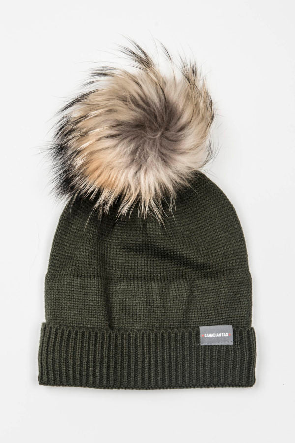 Canadian Tag Fermont Knit Winter Hat