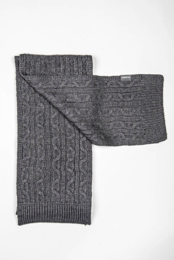 CANADIAN Winter Tag Manitoba Scarf | Knitted Wool