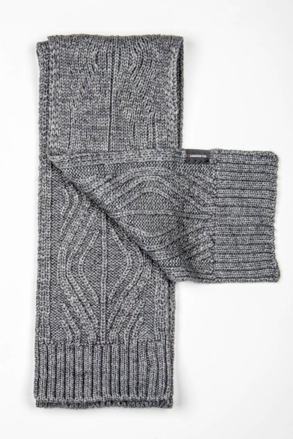 CANADIAN VICTORIA Scarf | Knitted Wool