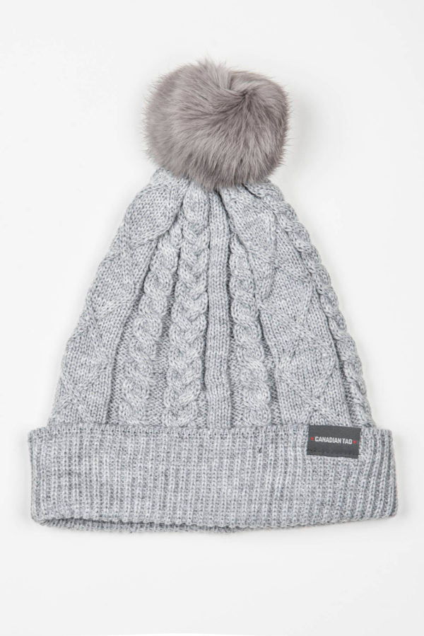 Canadian Tag Windsor Hat | Chunky-knit Beanie