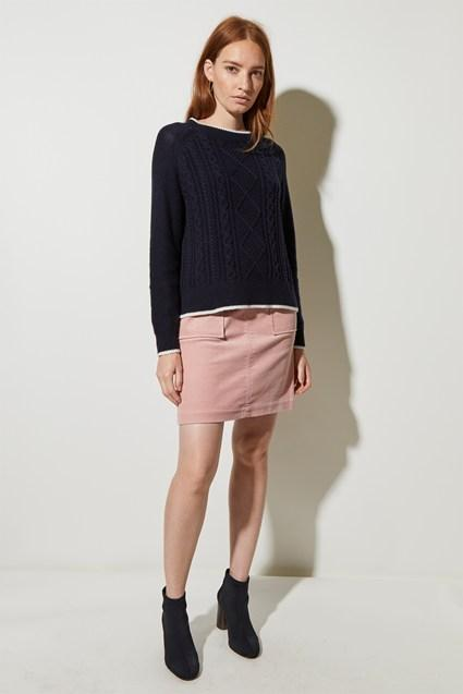 Great Plains - Turtleneck Long Sleeve Sweater