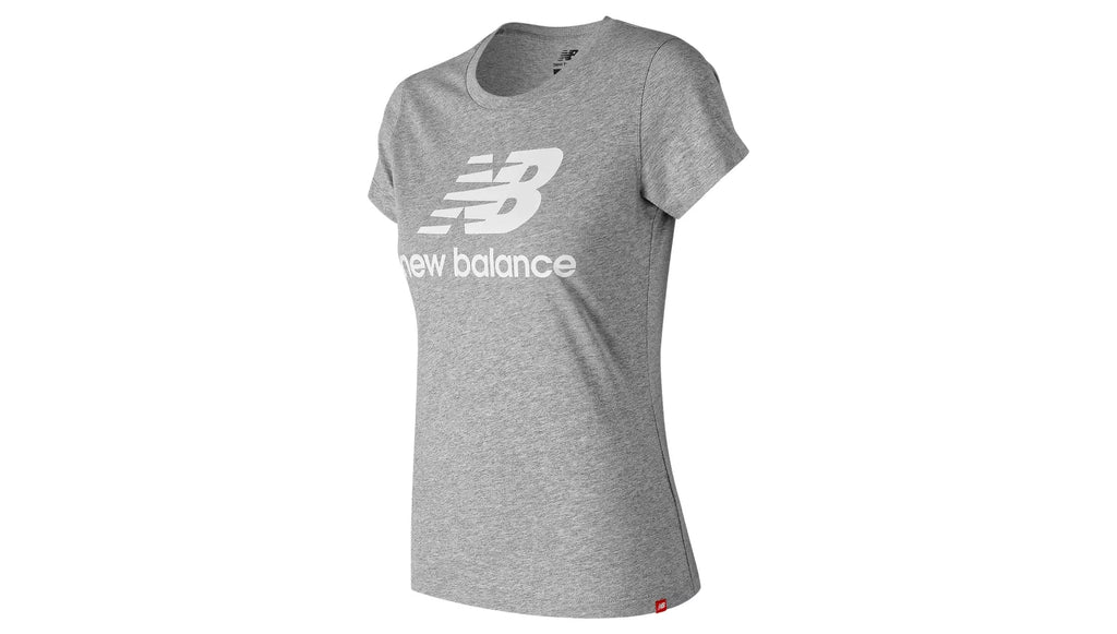 New Balance W Essentials Stacked Logo Tee
